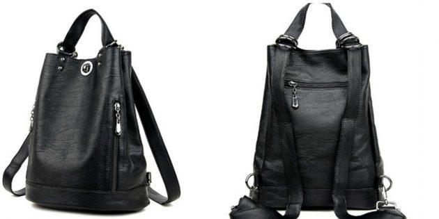Сумка-рюкзак с мягкой спинкой