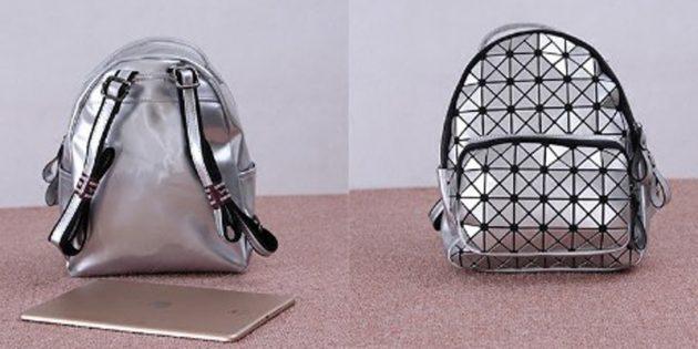 Рюкзак с геометрическим рисунком