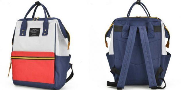 Рюкзак из плотной ткани