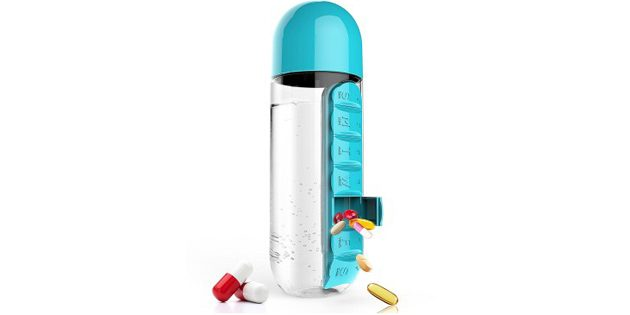 Бутылка с органайзером