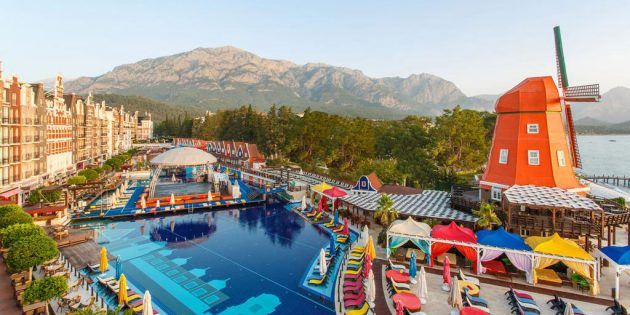 Отель Orange County Resort 5*, Турция