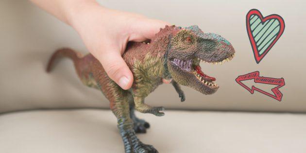 Почему все мальчики так обожают динозавров