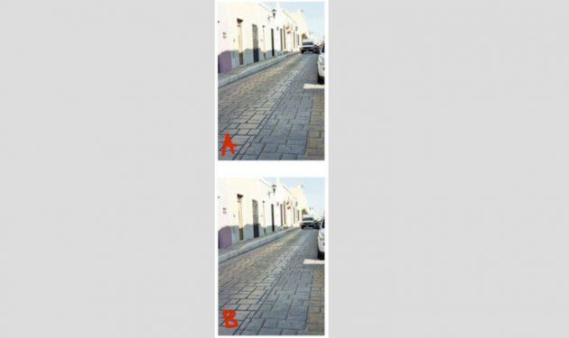 оптическая иллюзия: сравнение фото