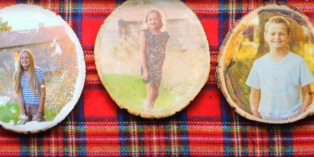 Подарки на 23 Февраля своими руками: фотография на дереве