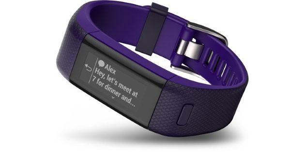 Подарки на 8 Марта: Смарт-часы Garmin vivosmart HR+