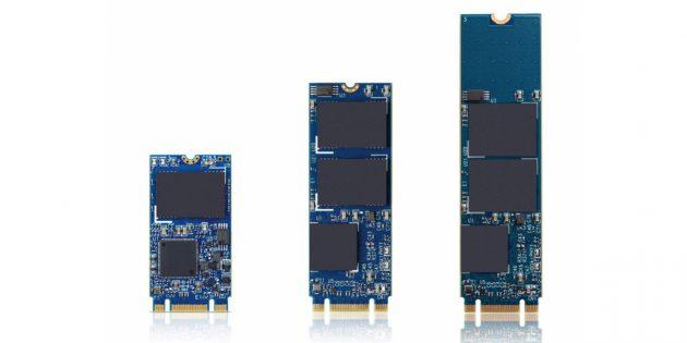 Какой SSD лучше: Три накопителя SSD M.2 разной длины
