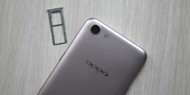 OPPO A83: связь