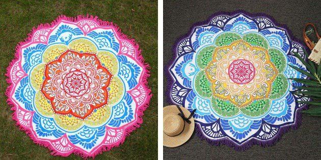 Цветной ковёр