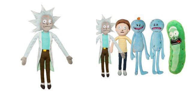 Игрушки из «Рика и Морти»