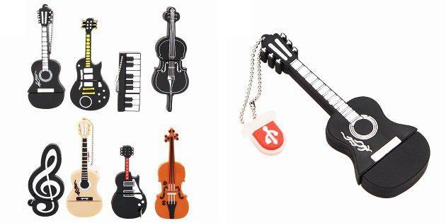 Флешки для музыкантов