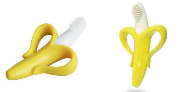Зубная щётка-банан