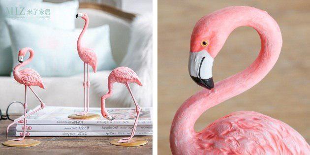 Декоративный фламинго