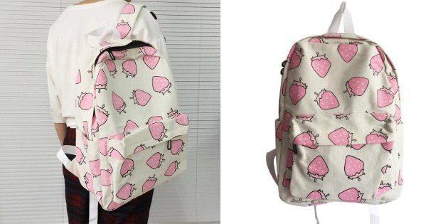 Рюкзак с ягодами
