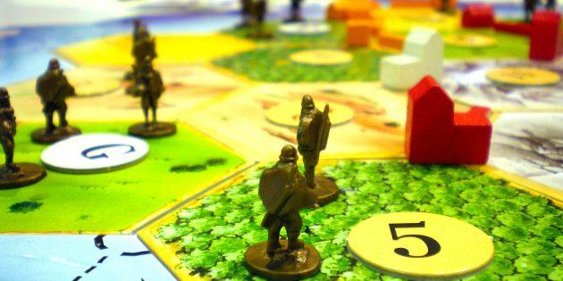 Настольные игры: «Колонизаторы»