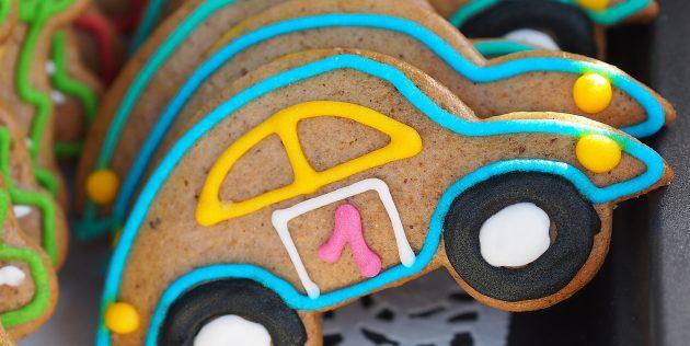 Подарки на 23 Февраля своими руками: печенье-машинка