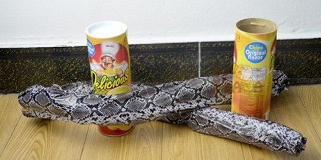 розыгрыши на 1 апреля: Чипсы со змеёй