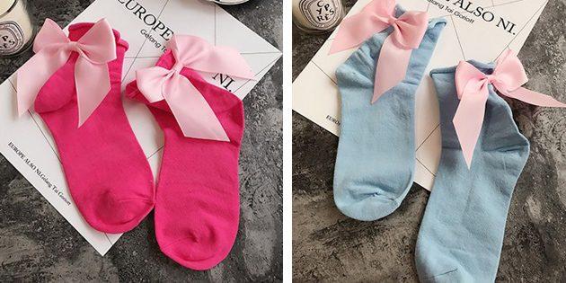 Носки из хлопка