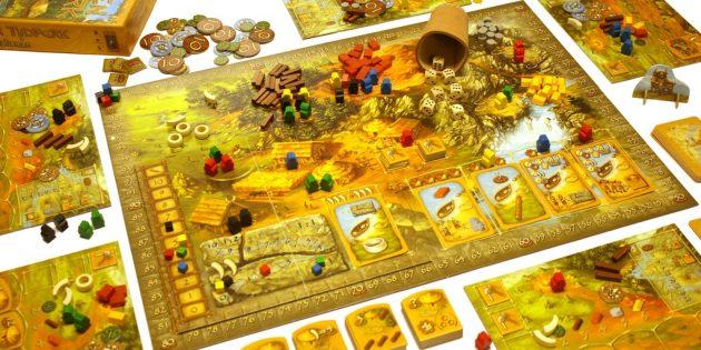 Настольные игры: «Каменный век»