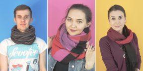 Как завязать шарф: 30 стильных способов для женщин и мужчин