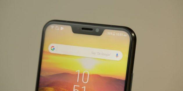 Android P: монобровь