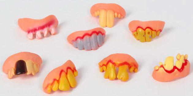 розыгрыши на 1 апреля: Страшные зубы
