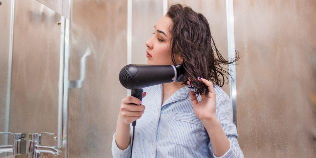 Как отрастить волосы: откажитесь от фена и утюжков