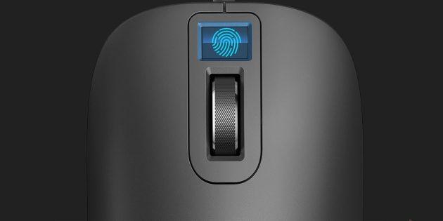 Мышь Xiaomi со сканером отпечатка пальца позволит забыть о паролях