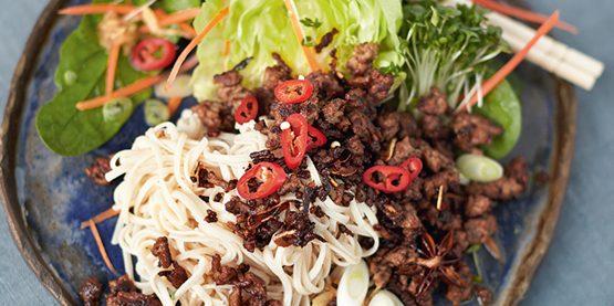Что приготовить на ужин: Хрустящая говядина по-азиатски