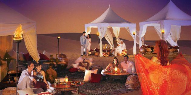 ОАЭ: ночное сафари в Дубае