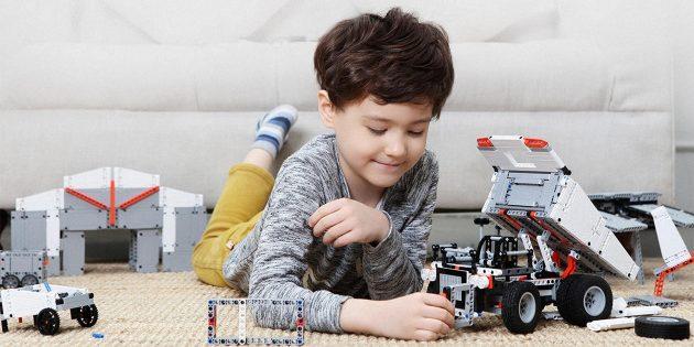 Новый механический конструктор Xiaomi: как LEGO Technic, но вдвое дешевле