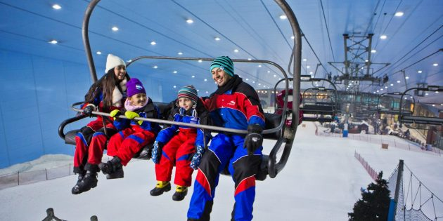 ОАЭ: Ski Dubai
