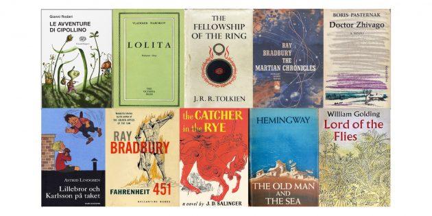 50-е годы: книги