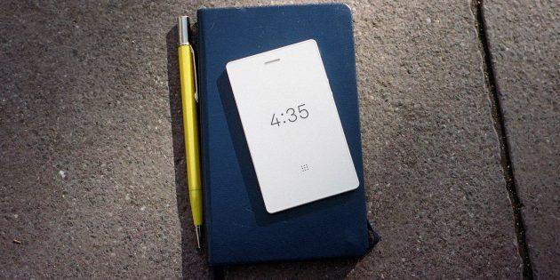 Компактный антисмартфон, в котором есть только самые необходимые функции