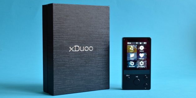 xDuoo Nano D3: коробка