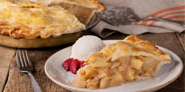 Рецепты с яблоками: Классический яблочный пирог
