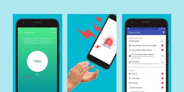 С помощью этого приложения можно найти телефон, похлопав в ладоши
