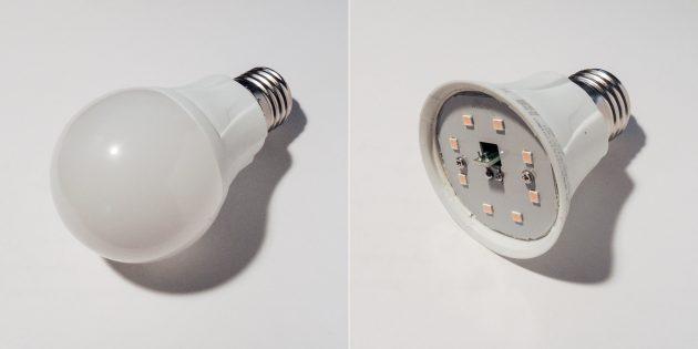 Чем различаются энергосберегающие и светодиодные лампы