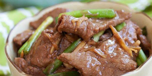 Лучшие рецепты с имбирём: Говядина в имбирном соусе