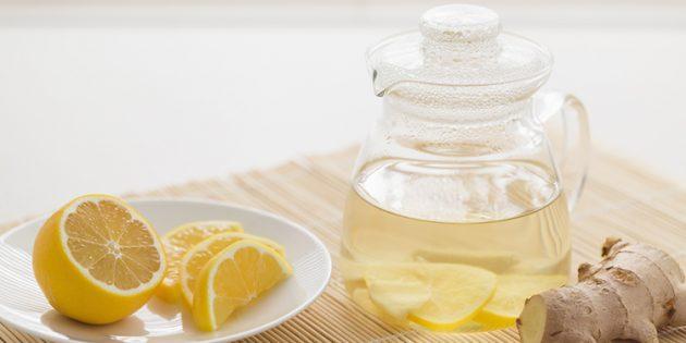 Имбирь рецепты: Имбирный лимонад