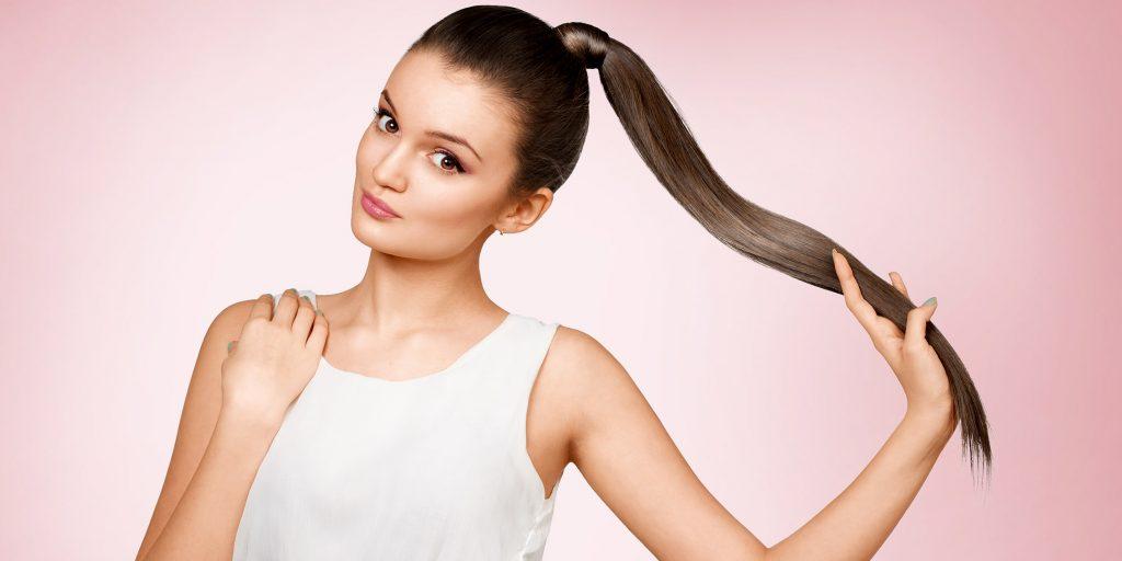 Всегда актуальный высокий хвост на длинные волосы — как самостоятельно сделать разные виды этой прически?