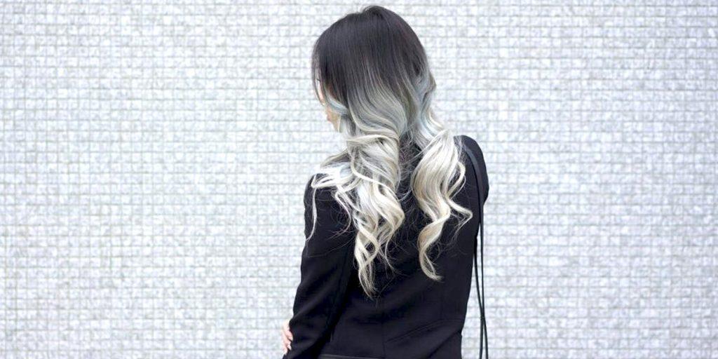 Как выглядит модная техника окрашивания шатуш на волосах