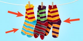Гениальный способ хранения носков