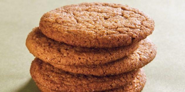 Лучшие рецепты с имбирём: Пряное имбирное печенье