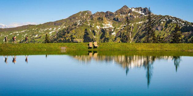 Бад-Гастайн: озеро