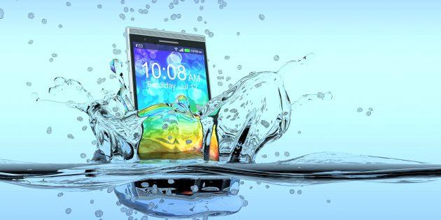 Самые влагозащищённые смартфоны по версии Роскачества