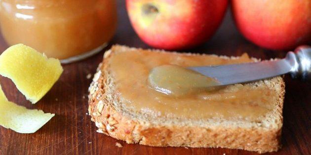 Рецепты с яблоками: Яблочное повидло