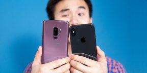6 причин, почему iPhone X всё ещё лучше Galaxy S9 и S9+