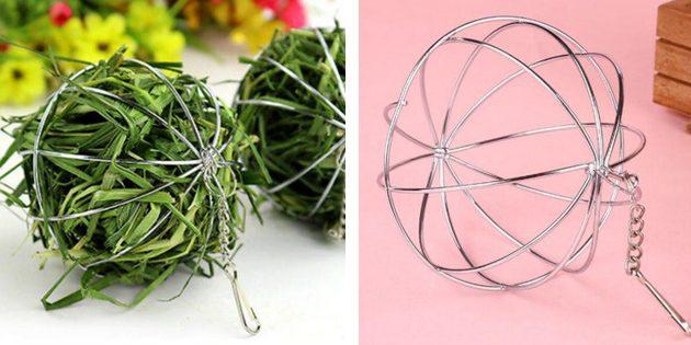 Подвесной шар для травы