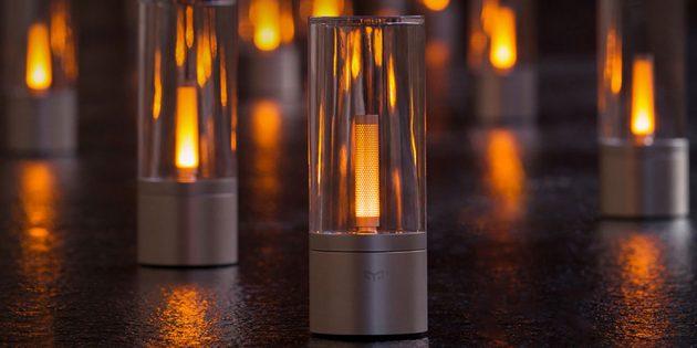 Светильник-свеча