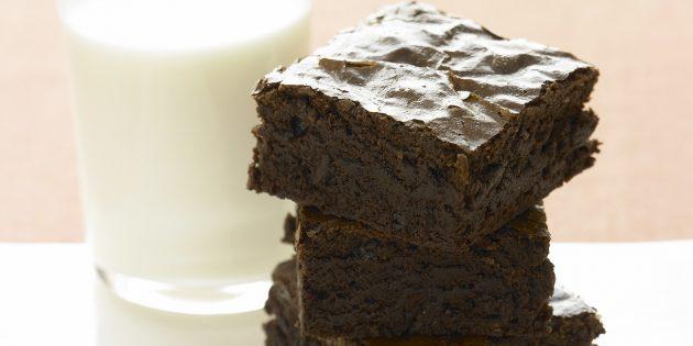 Лучшие рецепты с имбирём: Имбирно-шоколадный брауни